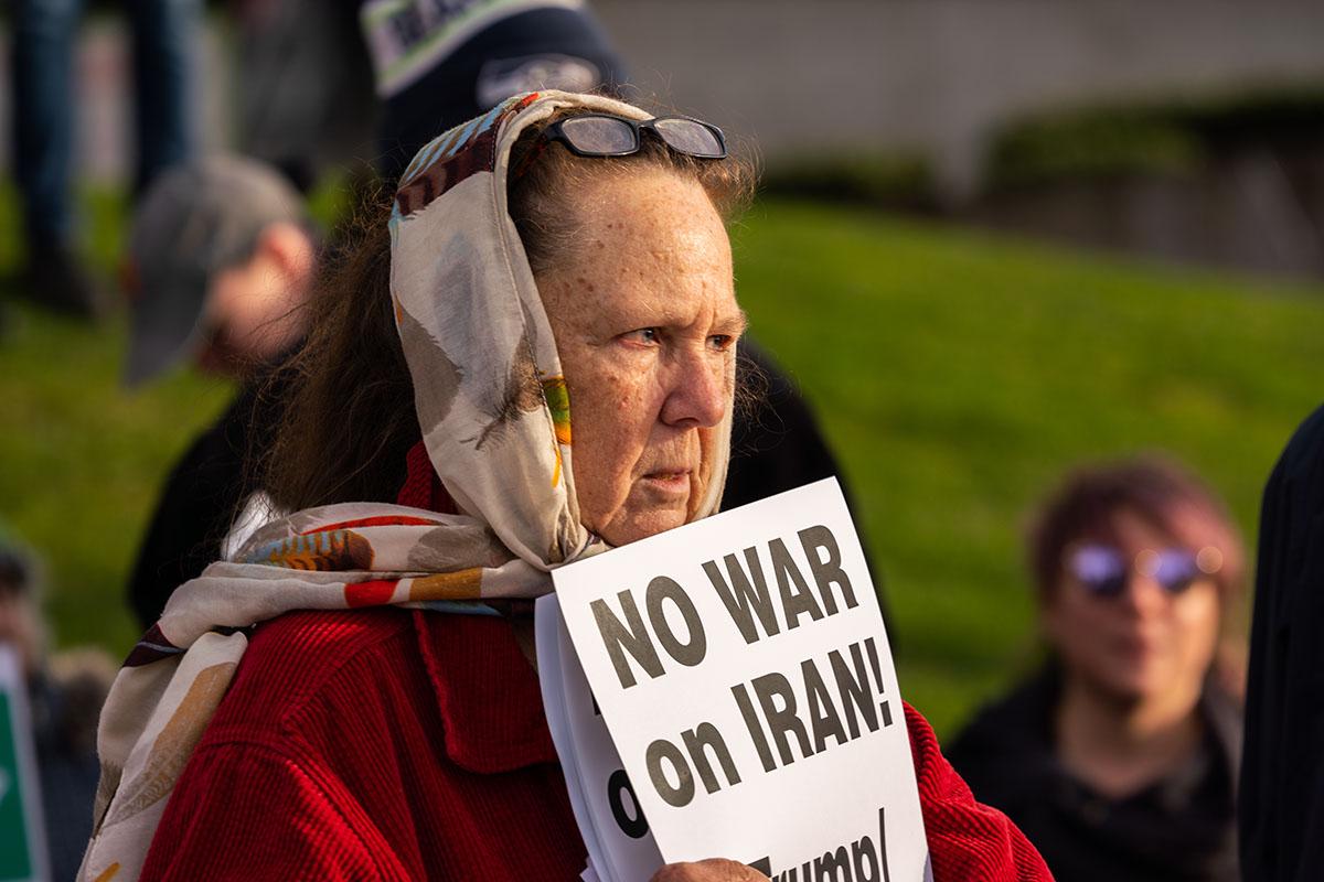 Seattle Anti War Protests